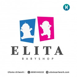 Logo Baby Shop Elita