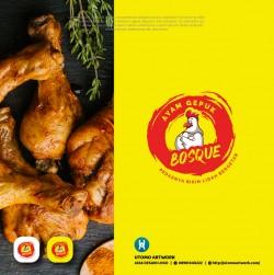 Logo Ayam Gepuk Bosque
