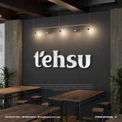 Desain Logo Tehsu