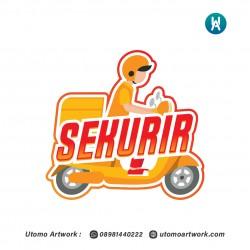 Desain Logo Sekurir