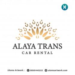 Desain Logo Alaya Trans
